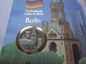 NUMISBRIEF *DEUTSCHLANDS STÄDTE-EUROS BERLIN 7.7.98* MIT 2 1/2 €-MÜNZE 1997 - Apen, Deutschland - NUMISBRIEF *DEUTSCHLANDS STÄDTE-EUROS BERLIN 7.7.98* MIT 2 1/2 €-MÜNZE 1997 - Apen, Deutschland