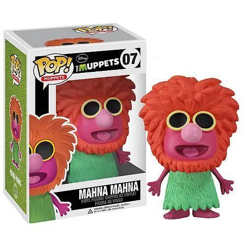 Funko Pop Vinyl Muppets Mahna Mahna RARE (in Funko perspex protective box) NEW