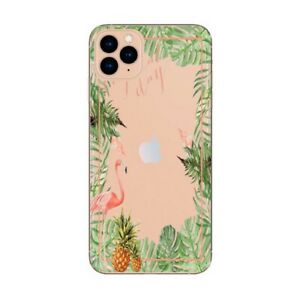 Coque Iphone 12 PRO MAX Tropical day Flamant Ananas summer