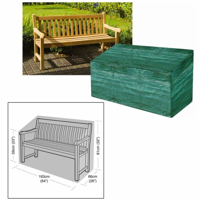 Awesome Heavy Duty Garden 3 Seater Bench Seat Cover Waterproof Weatherproof Outdoor 5Ft Customarchery Wood Chair Design Ideas Customarcherynet