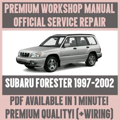 2002 subaru forester wiring diagram workshop manual service   repair guide for subaru forester 1997  workshop manual service   repair guide