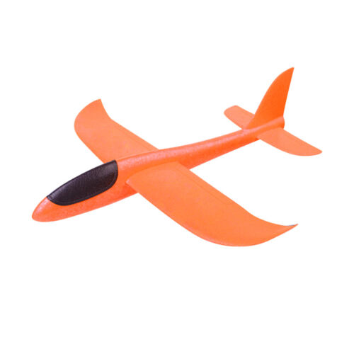 Kids Indoor /& Outdoor Hand Launching Foam Airplane Model Summer Beach Game Toy