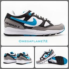 Nike Air Span II 2 OG UK 9 EU 44 US 10 Ah8047-001 Laser Blue   White ... c4b87bcce
