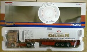 Corgi-CC12933-Scania-Topline-Fridge-Trailer-Edward-Gilder-Ltd-Ed-0001-of-1910