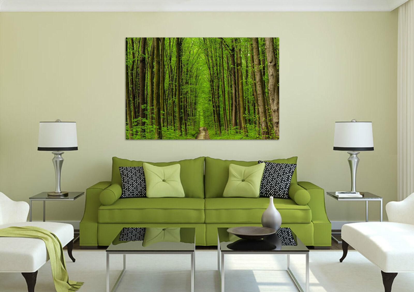 3D Grüne Bäume 423 Fototapeten Wandbild BildTapete AJSTORE DE Lemon