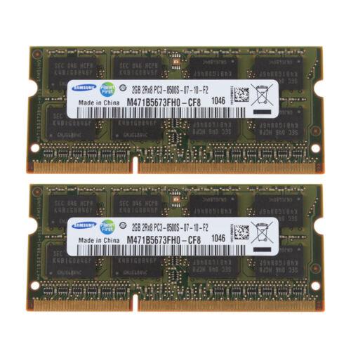 Samsung 2GB 4GB 2Rx8 PC3-8500 DDR3-1066Mhz Laptop RAM DIMM Memory Notebook Lot