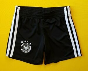 2404745fc8c 5+ 5 Germany soccer kids shorts 3-4 years AA0139 football Adidas ...