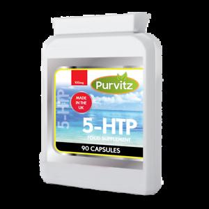 5HTP-100mg-Capsule-di-controllo-dell-039-appetito-Insonnia-Depressione-Serotonina-Ansia-UK