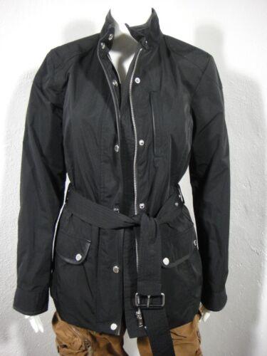 Lauren Blouson Noir Nwt Ceinture Taille M Moto Ralph T7TAdq