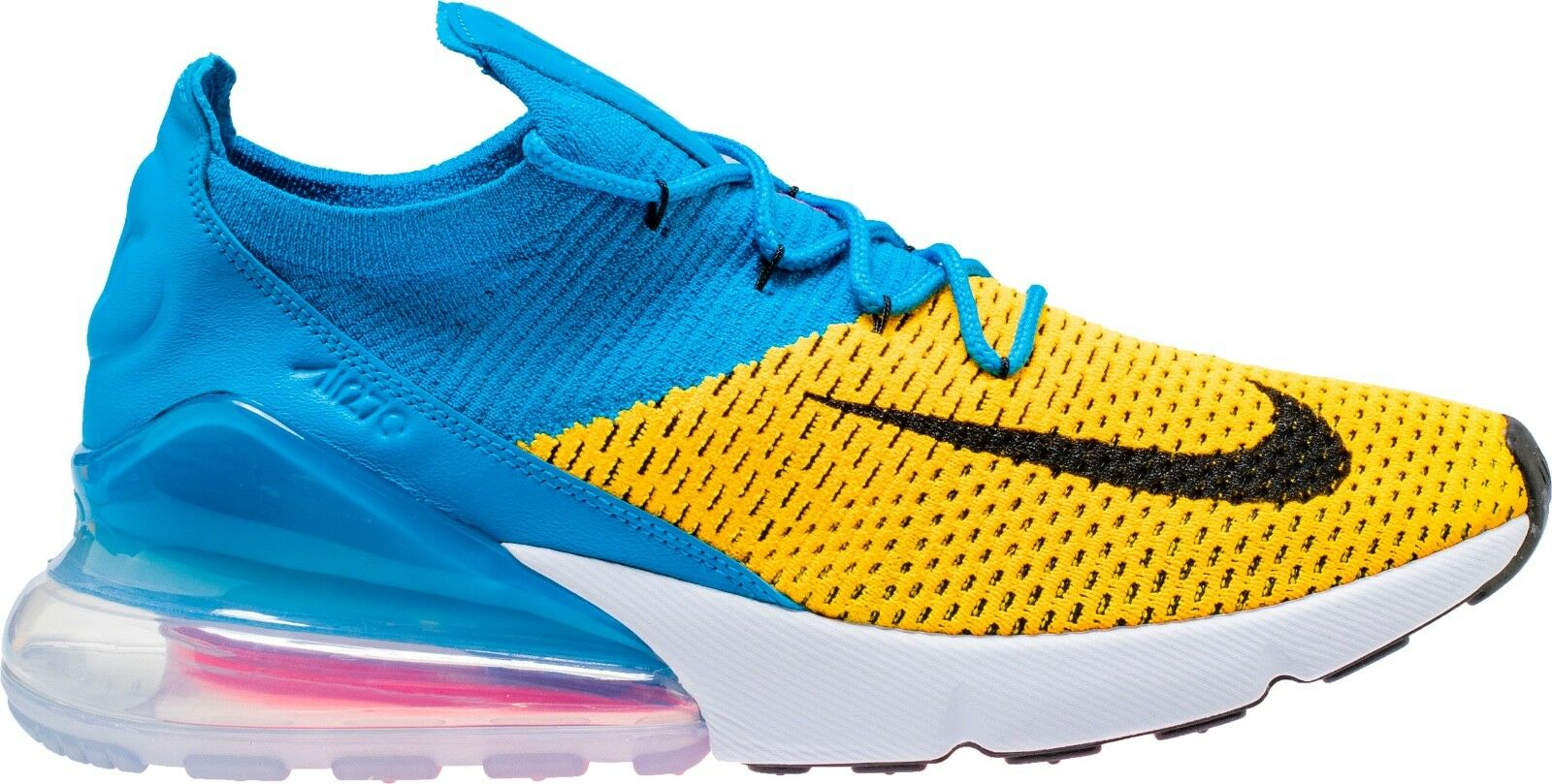 Men's Brand New Air Max 270 Flyknit  bluee Orbit  Fashion Sneakers [AO1023 800]