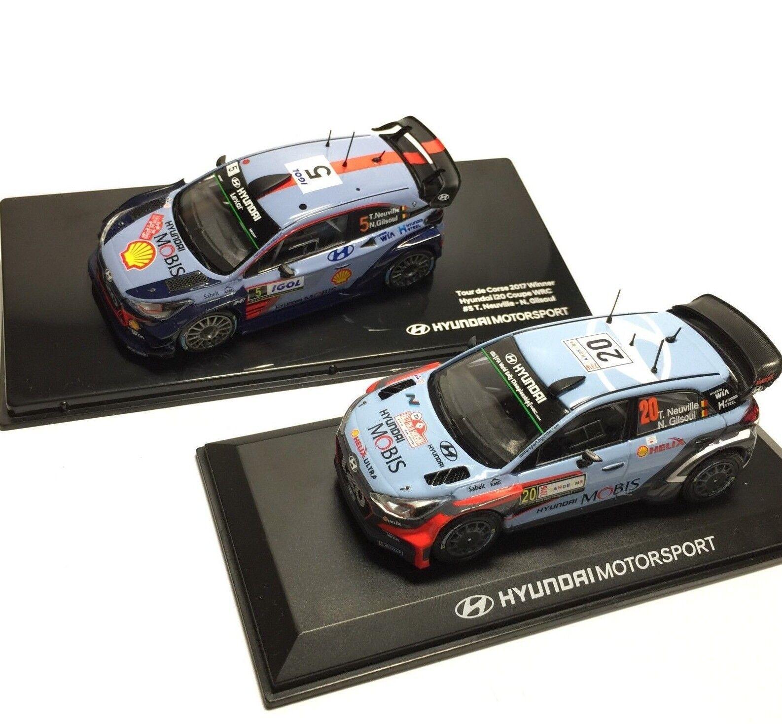 Hyundai i20 Coupe wrc 1 43 rally winner 2016 1ea, 2017 1ea-Thierry Neuville
