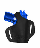 Barsony Black Leather Pancake Gun Holster Beretta Mini-pocket 22 25 380