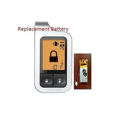 Replacement for DISCONTINUED CLIFFORD 7752X 2-Way Remote