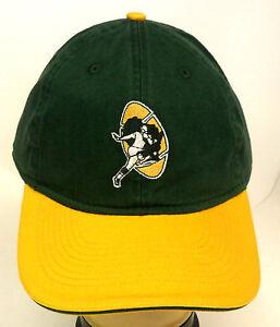 NFL Green Bay Packers Reebok Adult Vintage Cap Hat Buckle-Back OSFA ... 26318fdc9