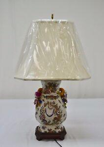 Chinese porcelain vase table lamp ebay image is loading chinese porcelain vase table lamp aloadofball Images