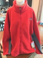 The North Face Mens Khumbu 2 Jacket Full Zip Rage Red/vanadis Grey