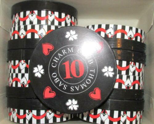 NEW IN BOX 10 YEAR DESIGN THOMAS SABO x 10 CHARM CLUB ROUND BRACELET BOXES