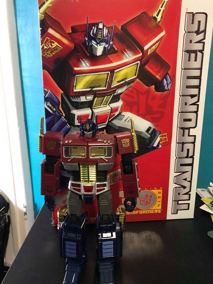 Transformers obra maestra Juguetesrus Platinum Series Optimus Prime sin usar