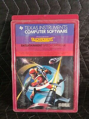 Buck Rogers Texas Instruments TI 99//4a Computer NEW CASE FRESH PHM 3226