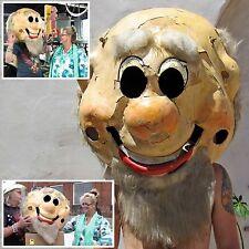 GIANT DWARF HEAD Vintage Costume FIBERGLASS SHELL Halloween Fun BAGGAGE BATTLES