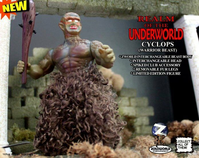 2017 REALM OF THE UNDERWORLD 5.75  CYCLOPS PAINT PROTOTYPE