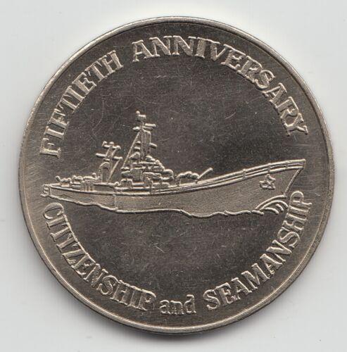 836 United States Naval Reserve 1915-1965 Fiftieth Anniversary token