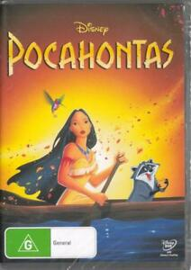 POCAHONTAS-DISNEY-NEW-amp-SEALED-REGION-4-DVD-FREE-LOCAL-POST