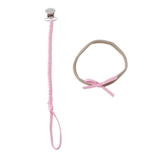 Anti Lost Clip Holder Baby Dummy Pacifier Soother Nipple Leash Strap Chain N7