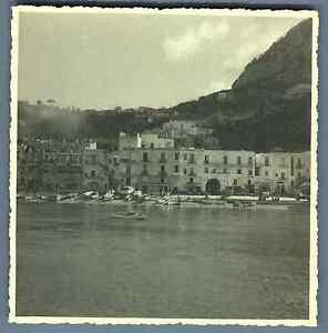 Italia-Capri-Panorama-Vintage-silver-print-Italy-Tirage-argentique-d-amp-039
