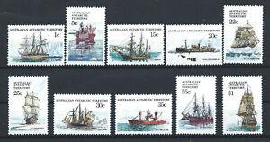Australie-Territoire-antarctique-N-37-46-MNH-1979-80-Bateaux