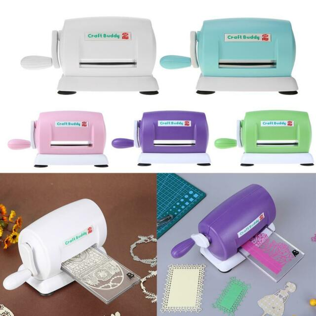 Dies Cutting Embossing Machine Home DIY Scrapbooking Paper Cutter Card Craft Set
