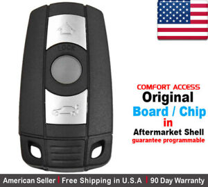 Bmw Key Fob Replacement >> Details About 1x Oem New Replacement Keyless Remote Key Fob For Bmw Kr55wk49147 Comfort Access