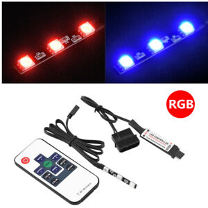 Ultra-bright-RGB-LED-Strip-Light-Remote-Control-For-PC-Water-Cooling-CPU-Block