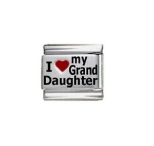 9mm-Italian-Charms-L99-I-Love-my-Grand-Daughter-Granddaughter-Fits-Classic-Size