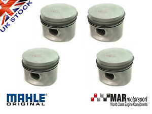4-x-Ford-2-0-OHC-Pinto-RS-2000-etc-MAHLE-PISTONS-1-50mm-92-33mm-High-Comp