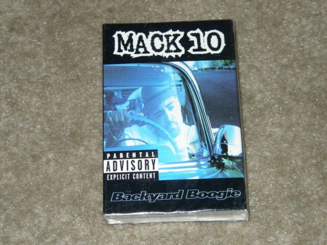 """Mack 10 """"Backyard Boogie"""" Gangsta Hardcore Rap. Brand New ..."""