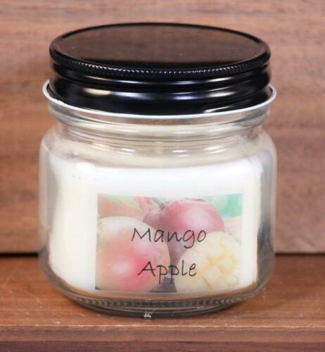 5 Ounces IScape Scented *Mango Apple* Small Mason Soy Candle
