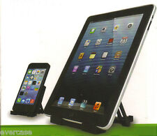 ikano Universal Tablet & Mobile / Cell Phone stand. Black.