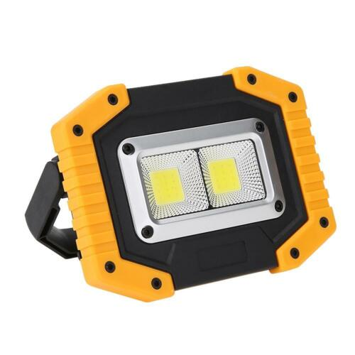 Outdoor LED Work Light Waterproof USB Rechargeable Searchlight Flood Light Lamp