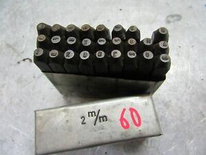 Antiquitäten & Kunst Radient Alte Schlagbuchstaben 2 Mm Oldtimer Schlagstempel Industrie Qualität #60#