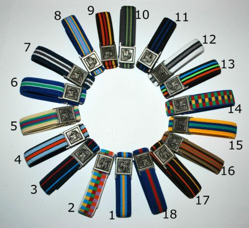 Boys belt with decorative buckle CAR BALL Buckle Theme 1-11 yrs MOTORBIKE