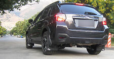 Subaru XV CrossTrek Rally Mud Flaps by RokBlokz mudflaps crosstek splashguards