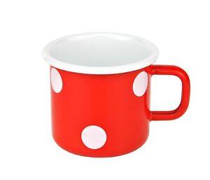 Tasse Rot Weiße Punkte