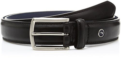 Nautica Mens Accessories Feathered Edge W// Double-Stitch Casual