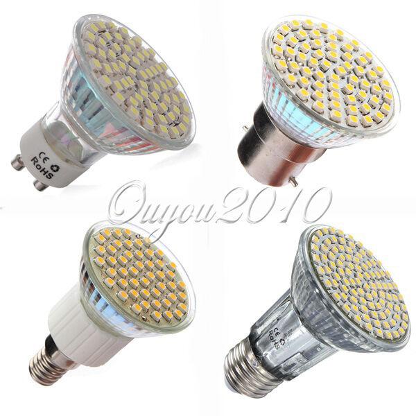 GU10 E14 E27 MR16 3W 4W 5W 6W SMD LED Ampoule Lampe Spotlight light Lumiere 220V