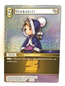 Geomancer-4-091C-Papier-Alu-Final-Fantasy-Ff-TCG-Opus-IV-4-Simple-Carte