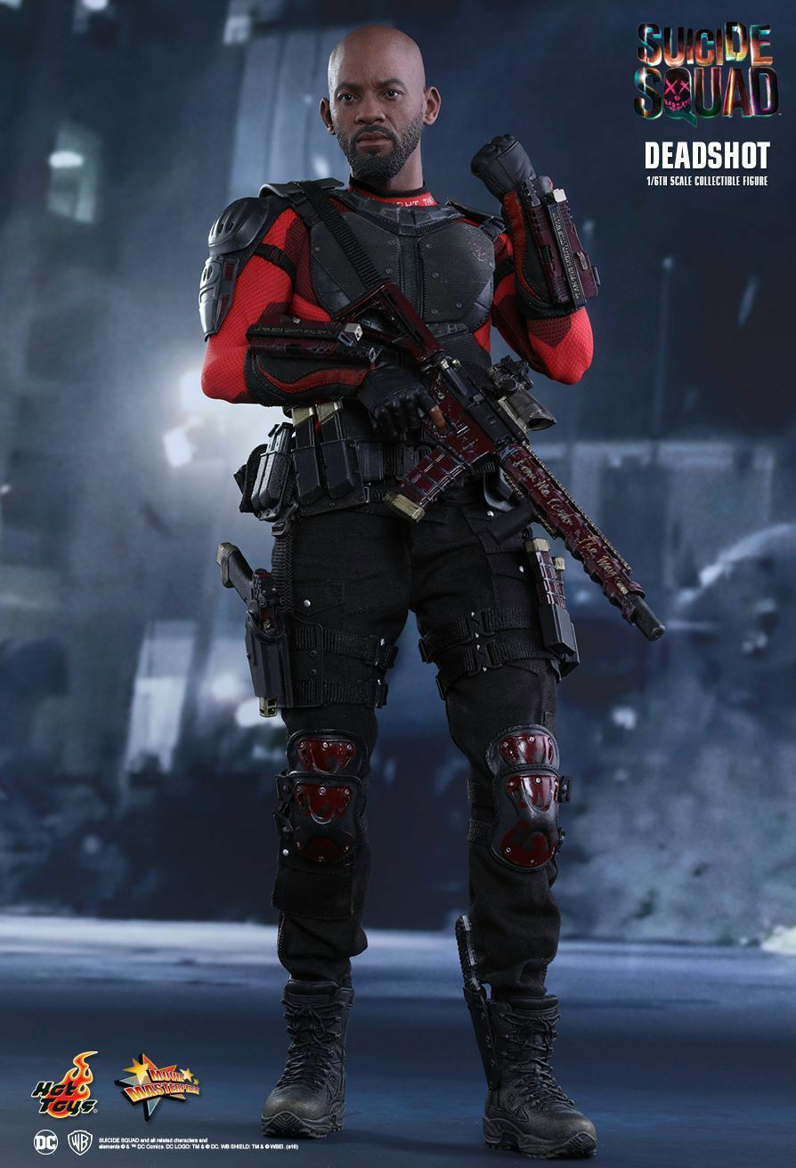 SUICIDE SQUAD - Deadshot 1 6th Scale Action Figure MMS381 (Hot Toys)  NEW