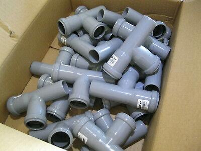 1 x Rehau HT Drain Pipe Junction HTEA dn40//40//67 ° installation Sewage Pipe