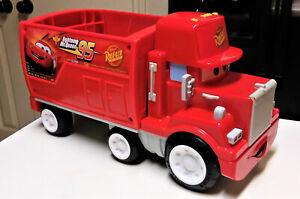 Disney Pixar Cars Wheelies MACK Hauler Truck Fisher Price Toy Truck