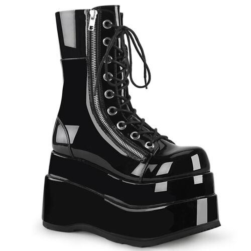 """DEMONIA Bear-265 4 1//2/"""" PF Closed Toe Mid-Calf Boot"""